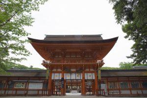 下鴨神社(賀茂御祖神社)~世界遺産に登録され糺の森が広がる