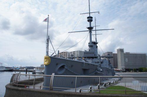 三笠公園~世界三大記念艦の一つ「三笠」と東郷元帥像