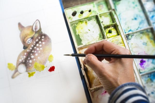 「プロ直伝!いきなり上手に描ける水彩画講座」の口コミや評判